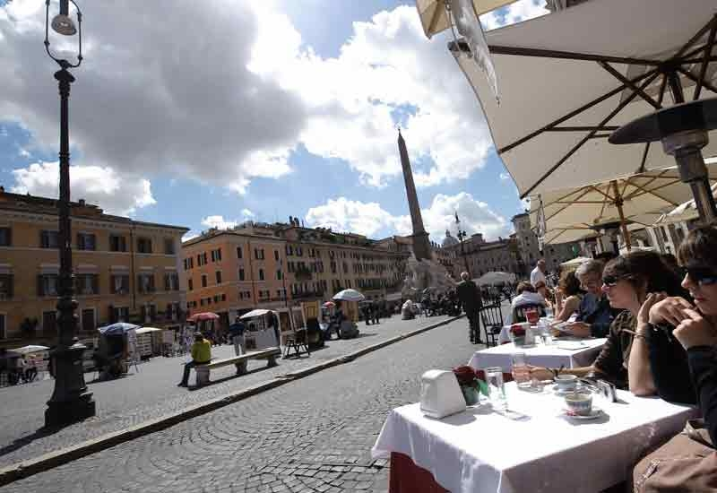 When in Rome, don't take hotel and street names too literally, says Selina Denman.