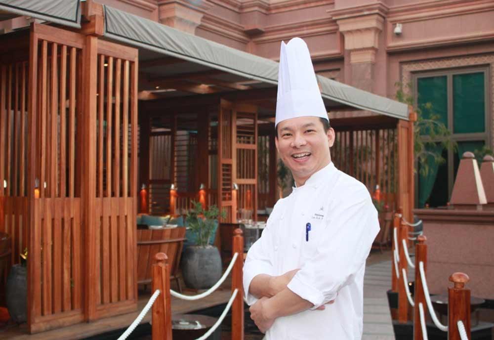 Head chef Lee Kok Hua of Hakkasan Abu Dhabi.