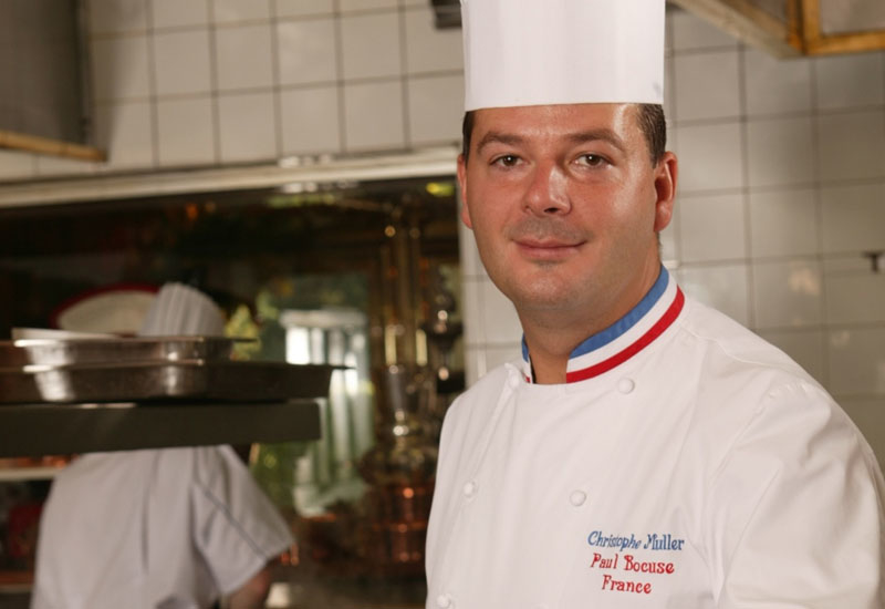 Christophe Muller is to delight guests with his French cuisine.