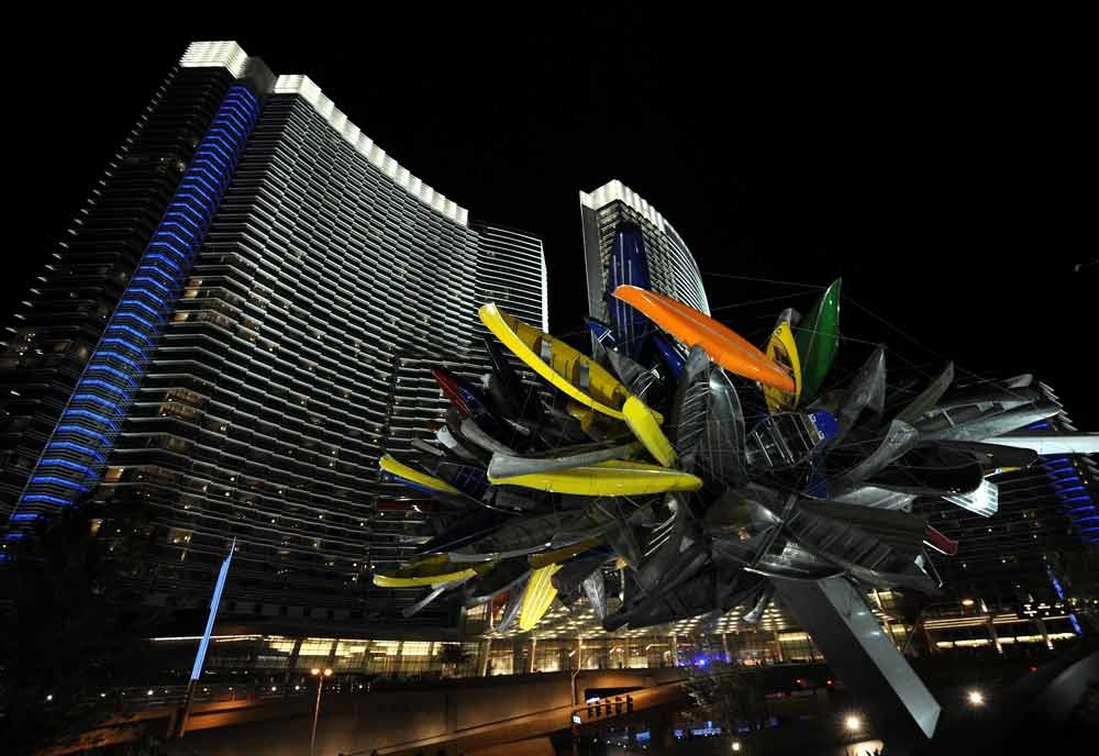 The CityCenter hotel development, Las Vegas, USA (Getty Images).