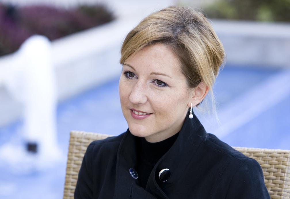 Raffles Dubai director of conferences and events Corinna Erken