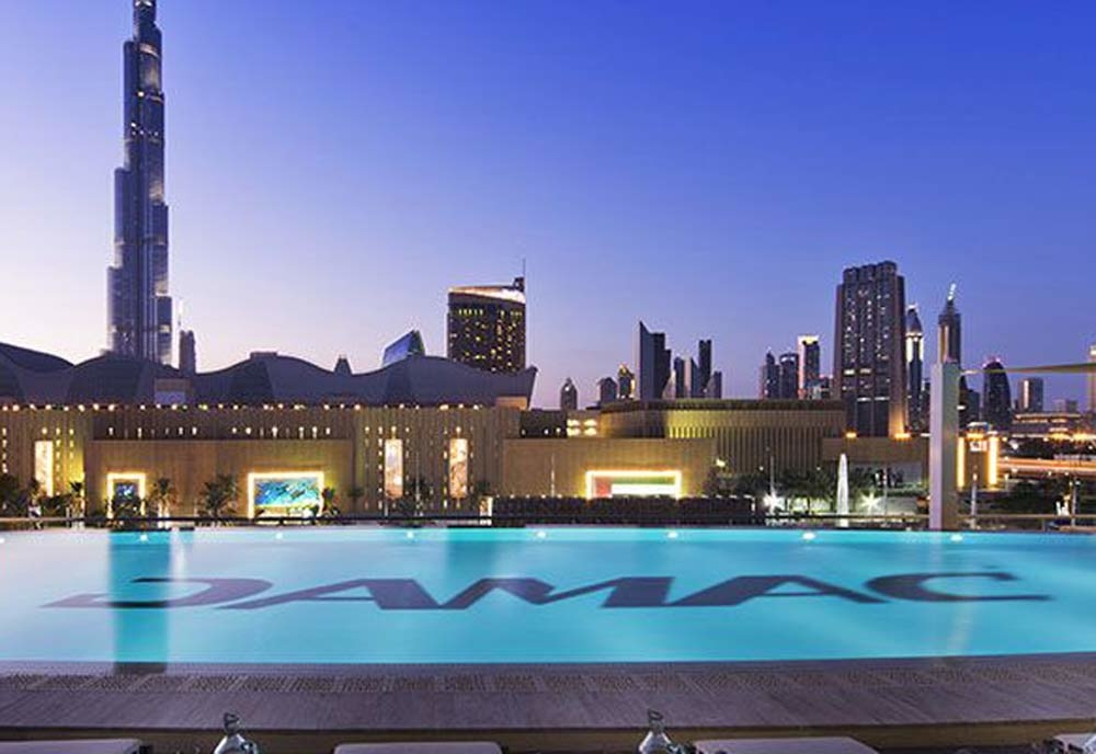The recently opened Damac Maison, Dubai Mall Street property.