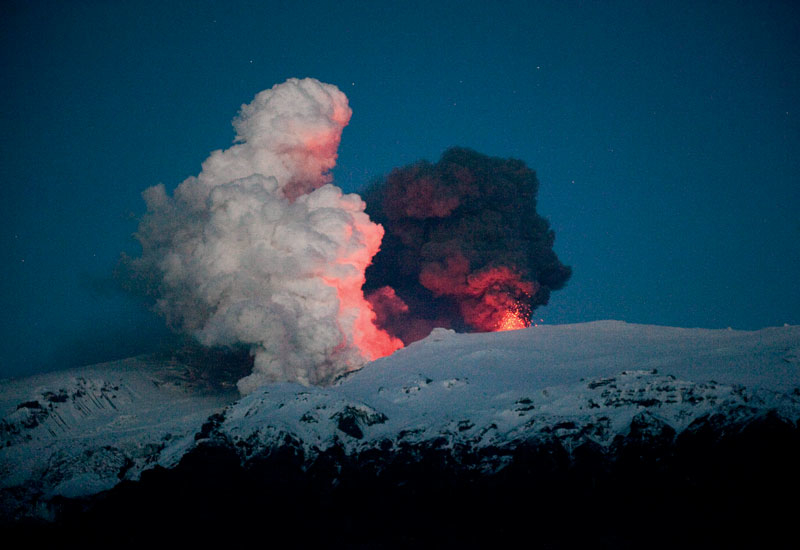 The crisis began on April 15 when Iceland's Eyjafjallajokull volcano erupted causing an ash cloud to fill the air.