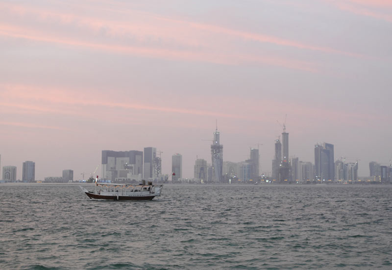 A general view of Doha's skyline.