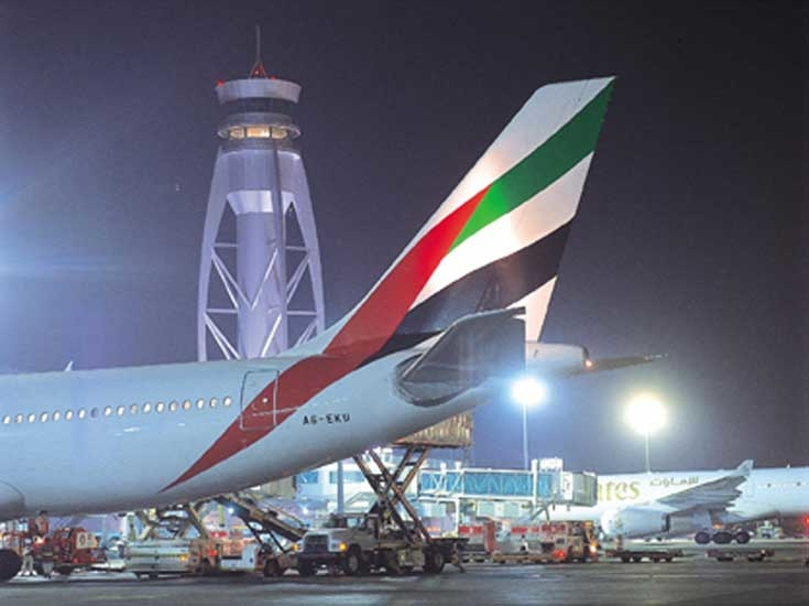 Dubai International Airport is undergoing expansion to boost capacity by 10 million passengers