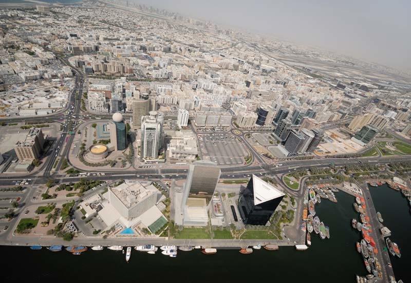 Dubai Creek area, for illustrative purposes