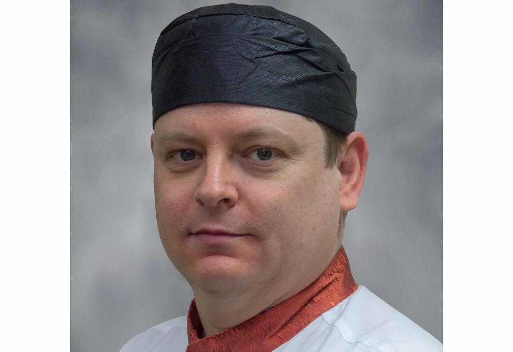Chef Paul Balfour.
