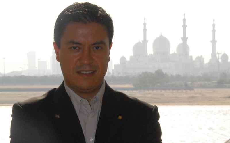 Shangri-La Hotel, Qaryat Al Beri, Abu Dhabi head sommelier Eduardo Perez.