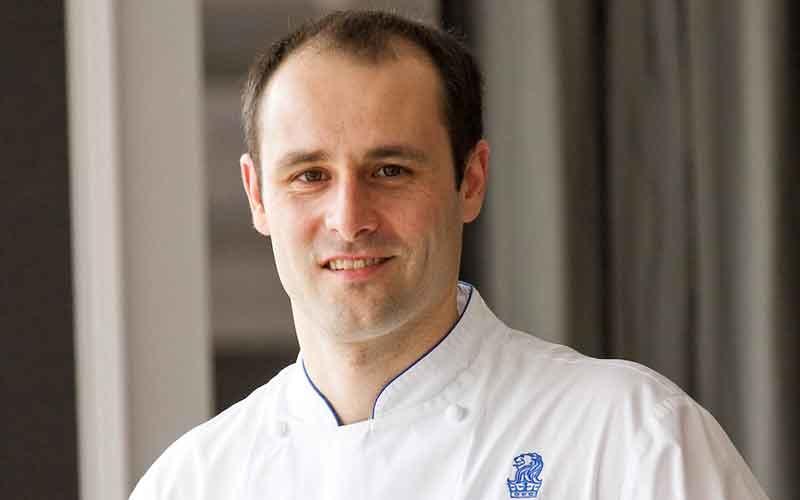 Eric Maloche is the new executive chef at the Ritz-Carlton, Dubai