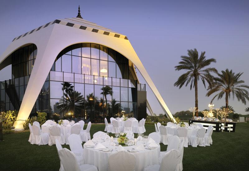 The Royal Majilis at Emirates Golf Club.