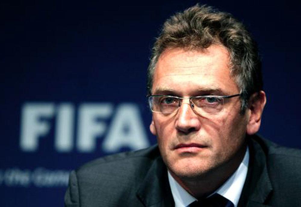 FIFA secretary general Jerome Valcke.