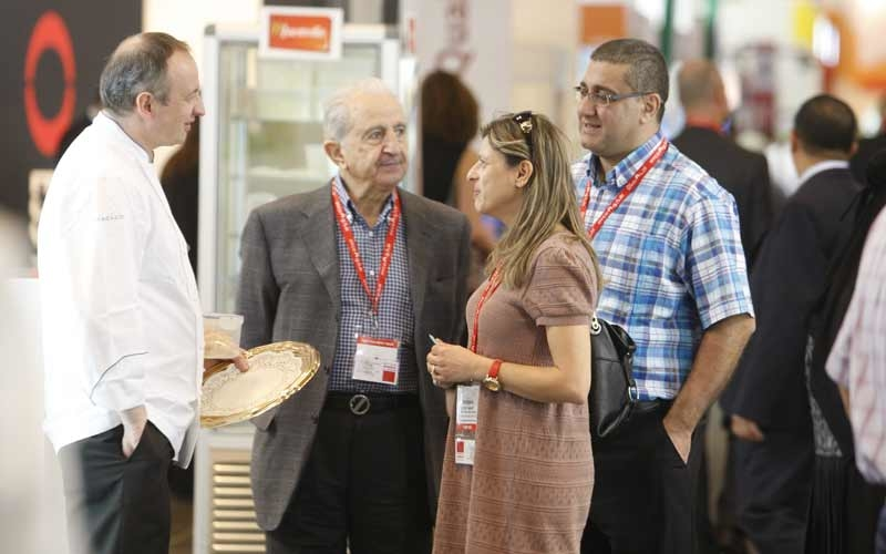 Exhibition is a great opportunity for networking (photo for illustrative purposes)