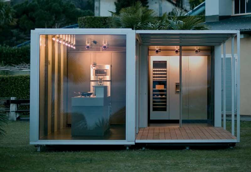 The new Gaggenau mobile kitchen.
