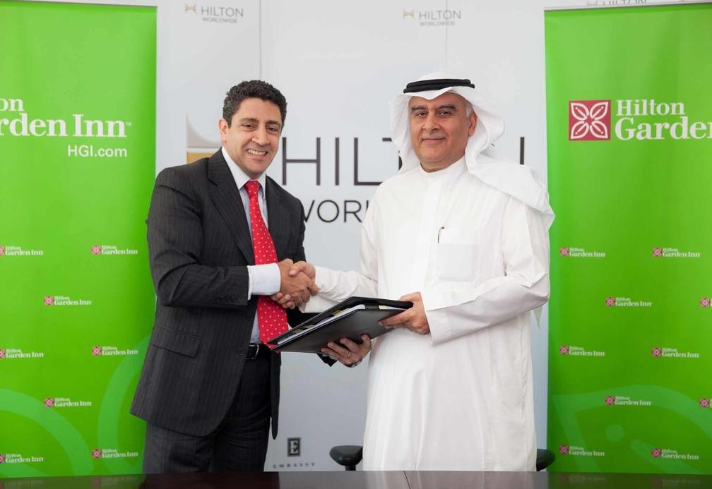 Hilton Worldwide signs agreement with Faisal Al-Ansari Contracting.