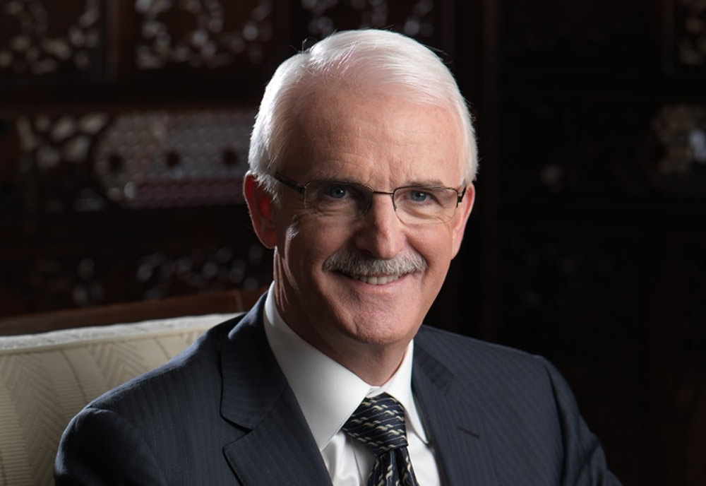 Gerald Lawless made this year's Hotelier Middle East Power 50 top spot