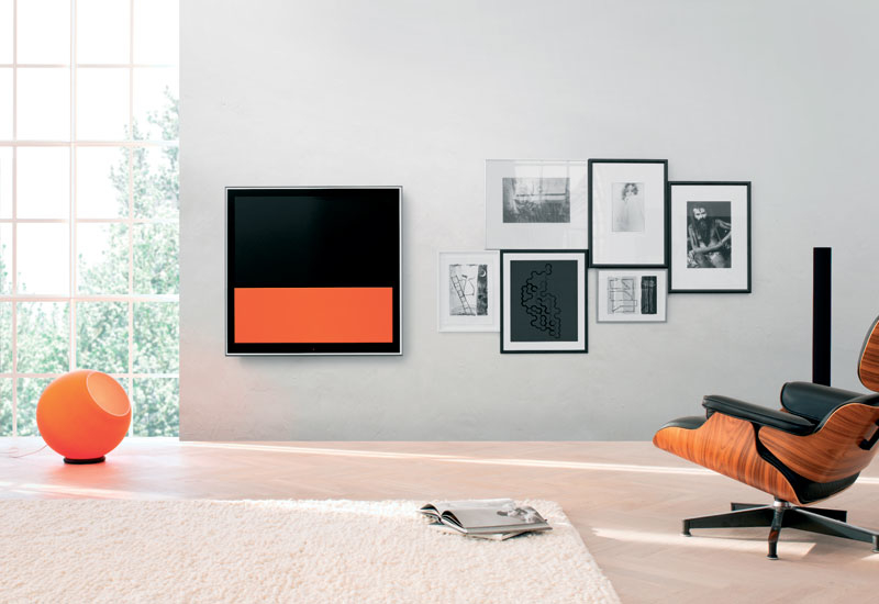 BeoVision 10 by Bang and Olufsen: TV can be more than a screen, it has become a guest interface.