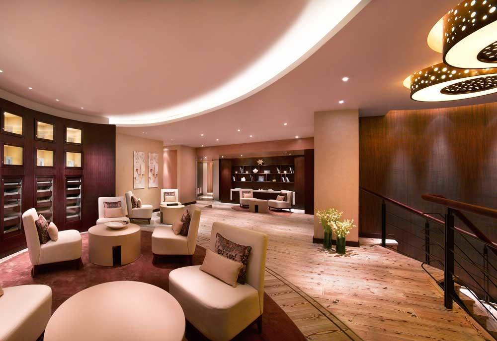 HBA was involved in the refurbishment of the Grand Hyatt Dubai's Ahasees Spa.