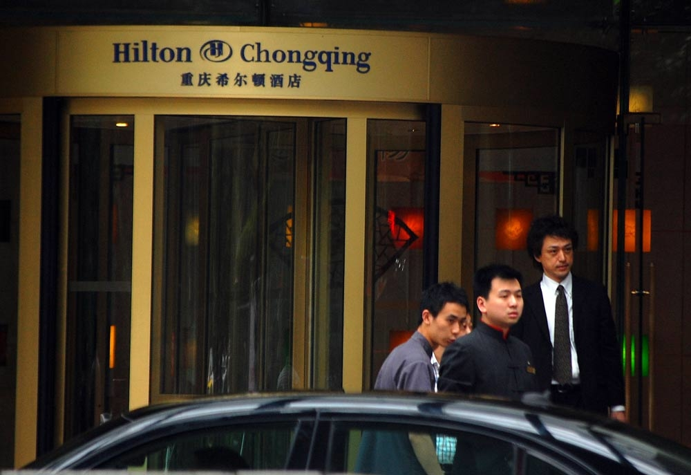 An investigation has begun over the links between Hilton Chongqing owners and the criminal underworld [Getty Images].