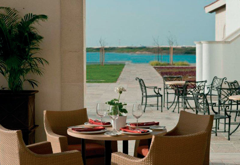 Indigo Living supplied the outdoor furniture.