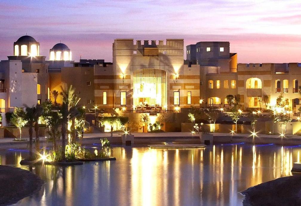 Intercontinental Palace Hotel at Port Ghalib.