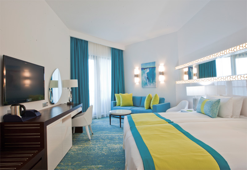 Rooms include sofa-beds making it easy for families to share the rooms.