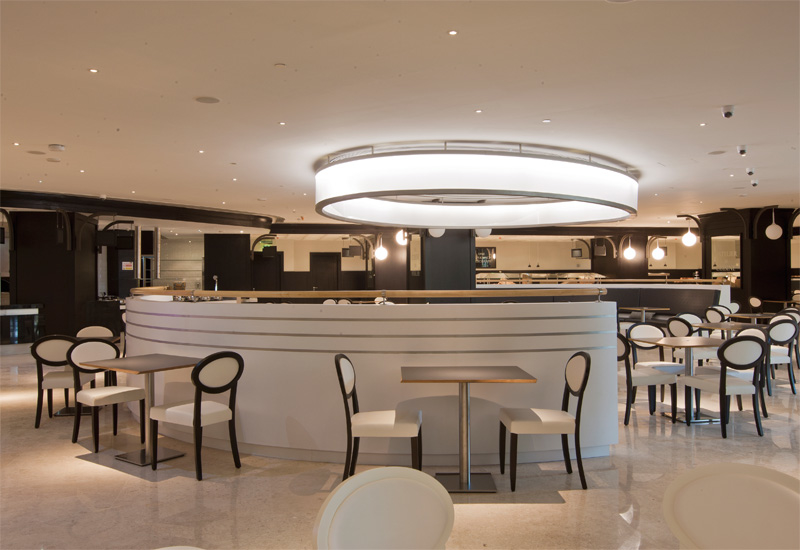 The brasserie restaurant is expected to be popular among the hotel guests.