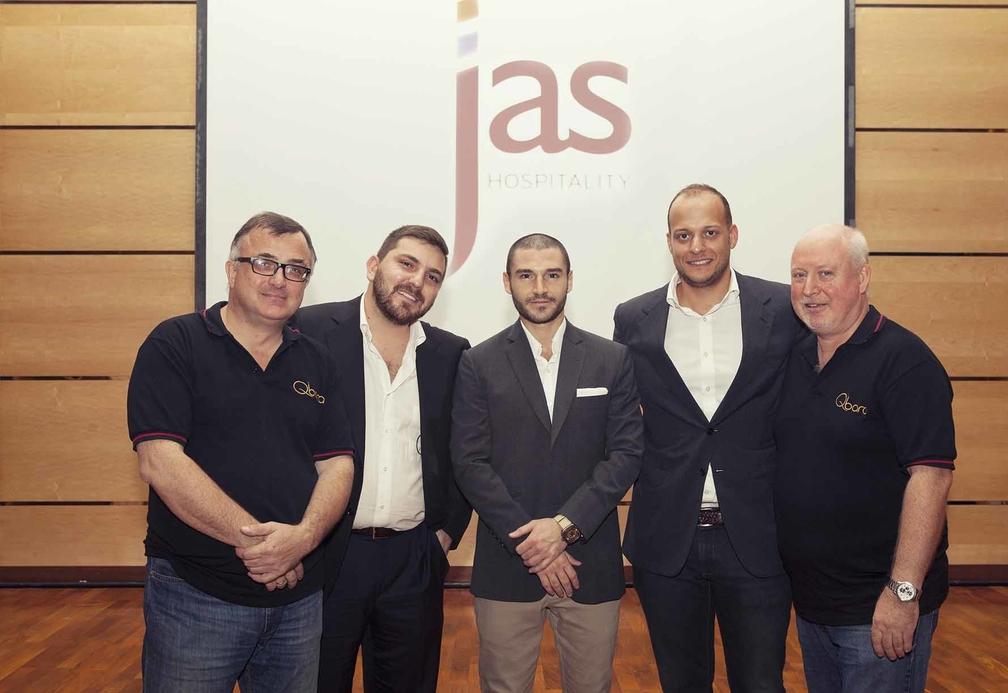 The Jas Hospitality team.