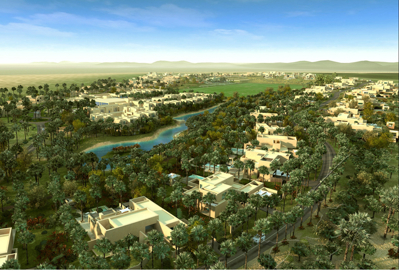 The resort will include a polo field and golf driving range.