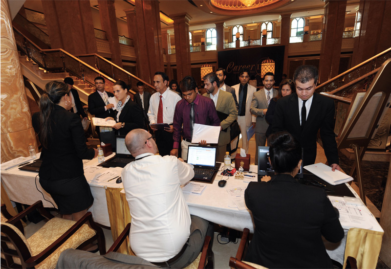 More than 200 jobs were offered on the spot at a careers day held by Kempinski Hotels at Emirates Palace, Abu Dhabi in December.