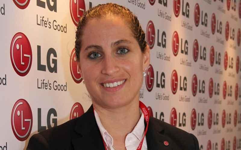 LG Electronics regional sales and business development manager Salwan Finj.