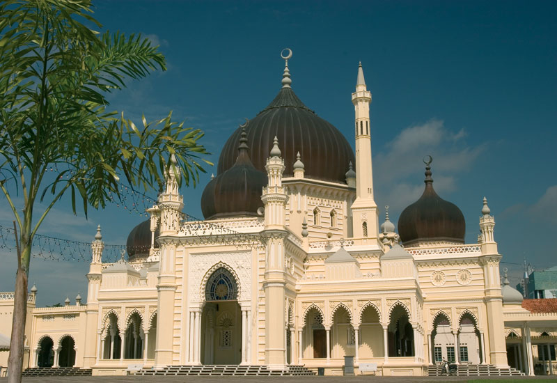 The Zahir Mosque in Malaysia has been voted one of the top ten most beautiful mosques in the world.