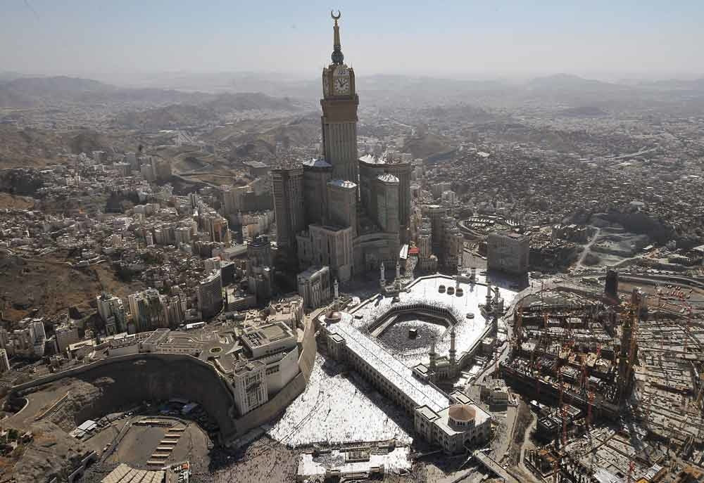 Last year pilgrim numbers to Makkah were slashed by 20 percent, because of expansion work at the Grand Mosque.