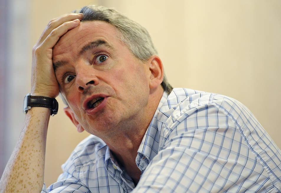 CEO Michael O'Leary, who owns 4% of the company, is set to receive a 20m euro payout [Getty Images]