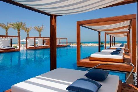 The Monte-Carlo resort is the first beach club on Abu Dhabi's Saadiyat island