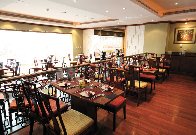 The Royal Orchid Chinese & Thai Restaurant Abu Dhabi imports authentic ingredients for its food.
