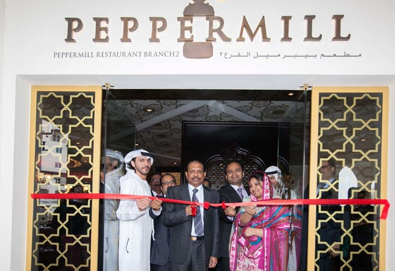 At the new Peppermill Restaurant, Eastern Mangroves Resort