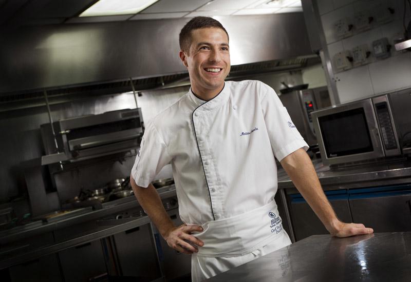 Pure Sky Lounge chef Matiyas Ayala has developed its menu.