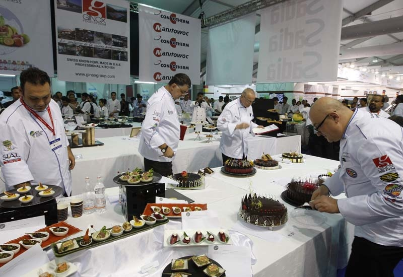 This year, Salon Culinaire is expecting between 1300-1400 entries.