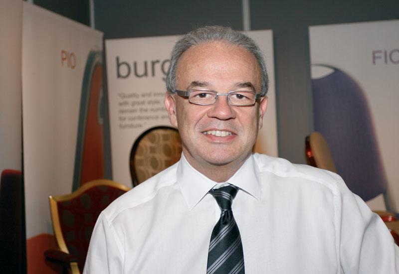 Burgess Furniture sales and marketing director Simon Richards.