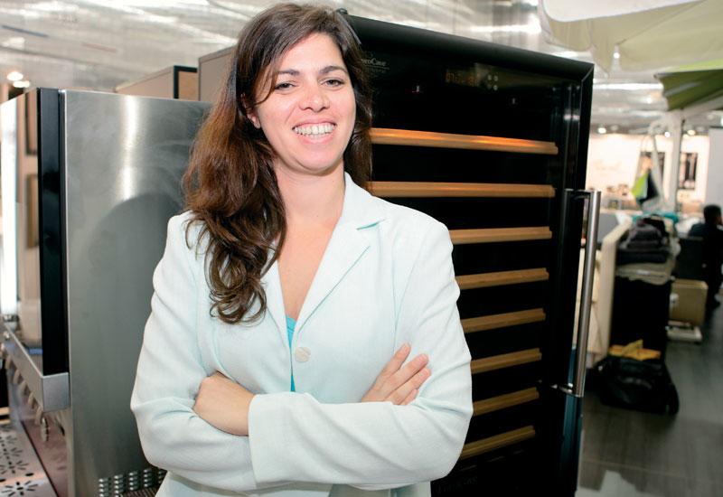 EuroCave export area manager Florence Bonnier.