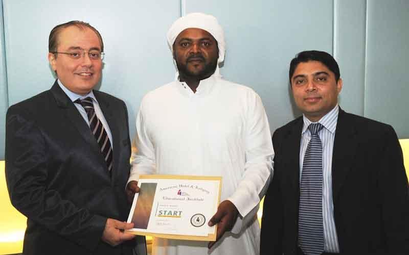 Mallallah Atiq Mallallah is the Tamani Marina Hotel's first Emirati concierge.