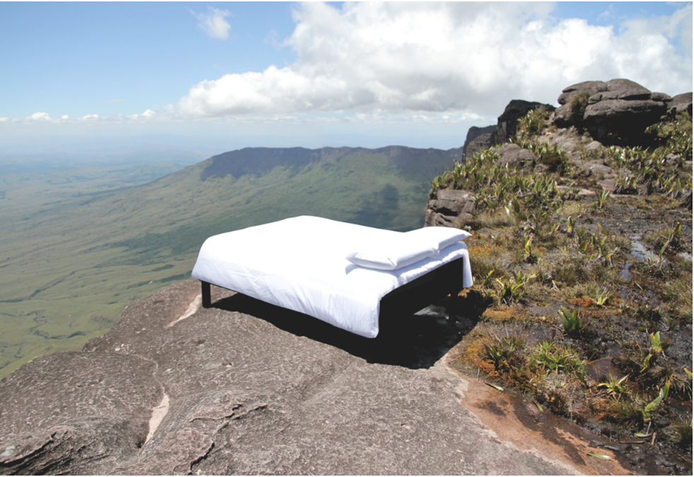 The Sweet Bed by IbisTM on top of the Devil's Mountain, Brazil.