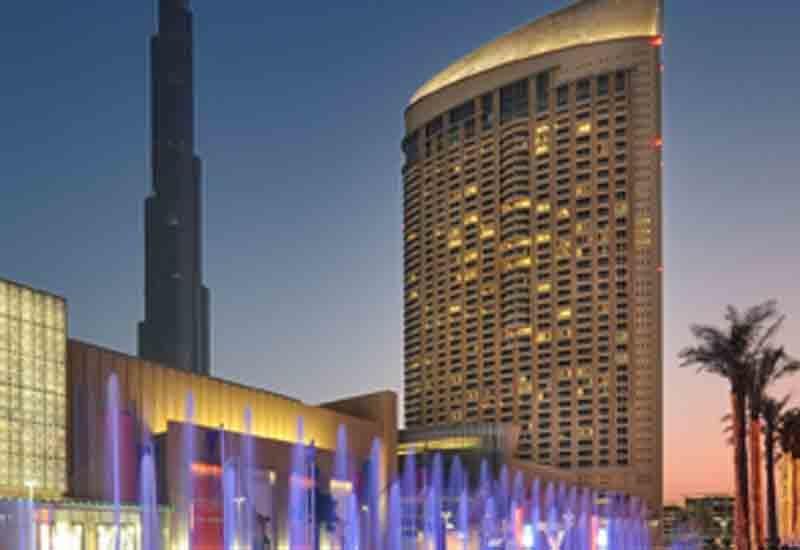 The Address Dubai Mall, one of the hotel's in Emaar's portfolio