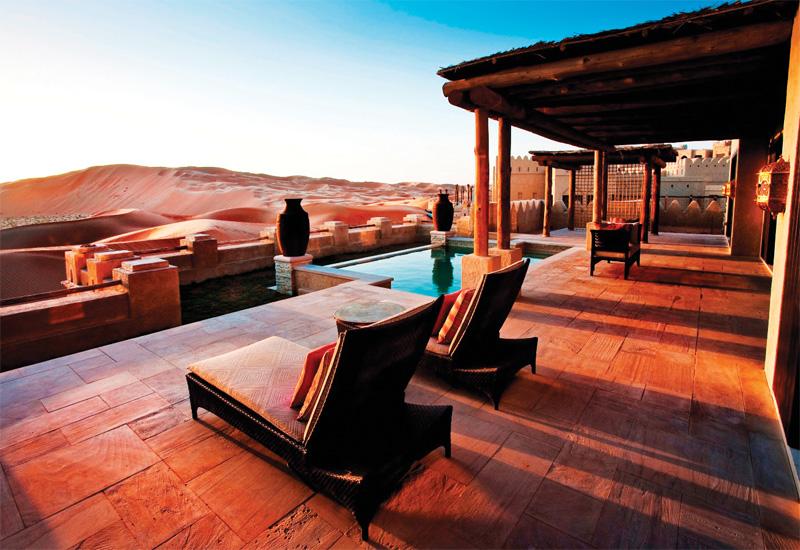 Qasr Al Sarab Desert Resort & Spa by Anantara.