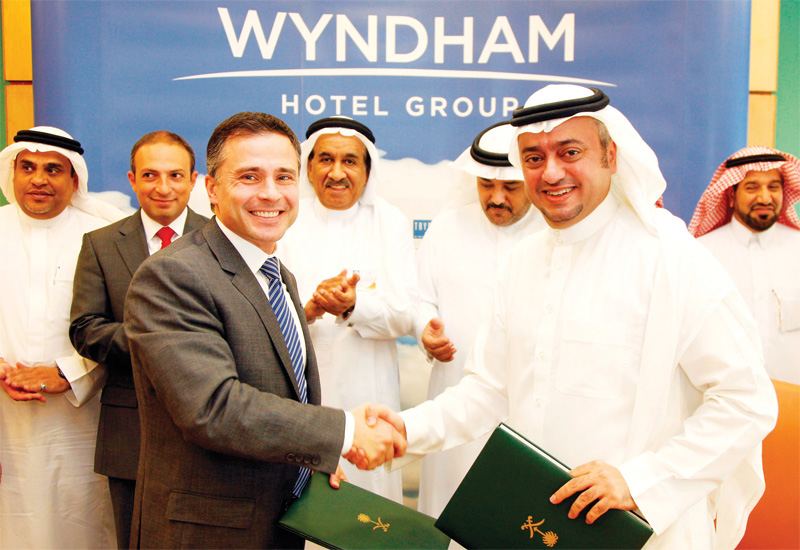 Wyndham Hotel Group signed an exclusive development agreement for the economy Days Inn brand in Saudi Arabia with Riyada International Hotels and Resorts.
