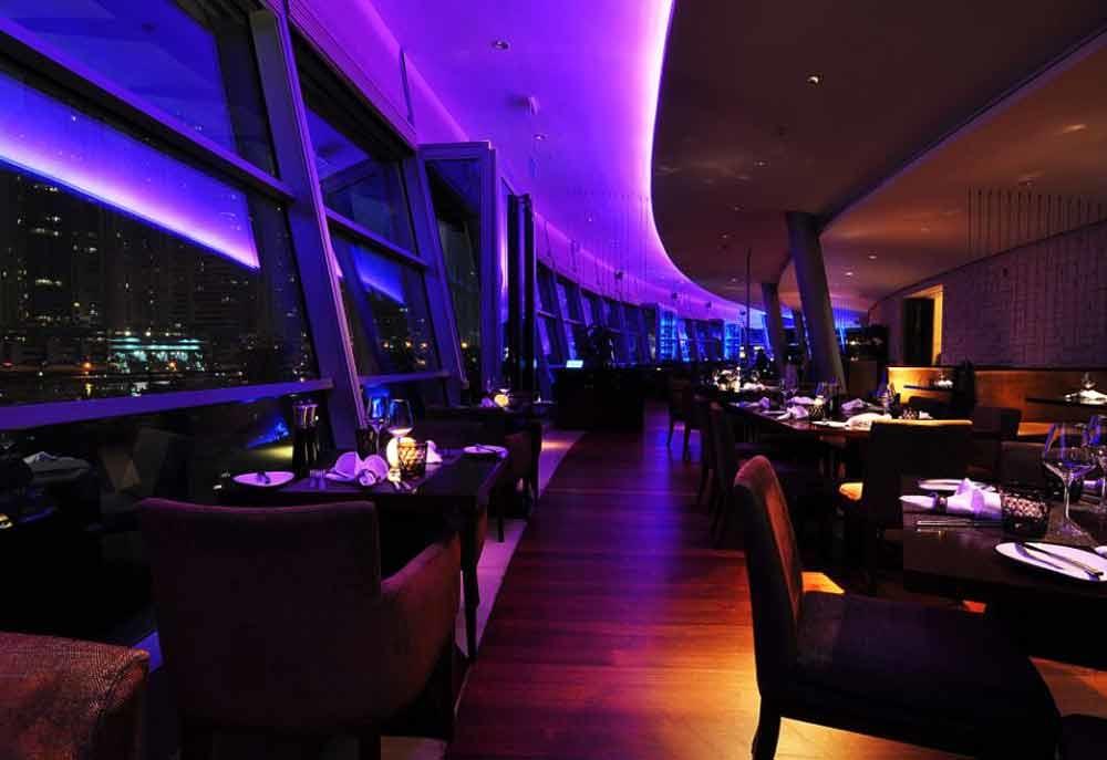 Aquara at the Dubai Marina Yacht Club is among the shortlisted 10