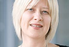 Senior group editor Gemma Greenwood.