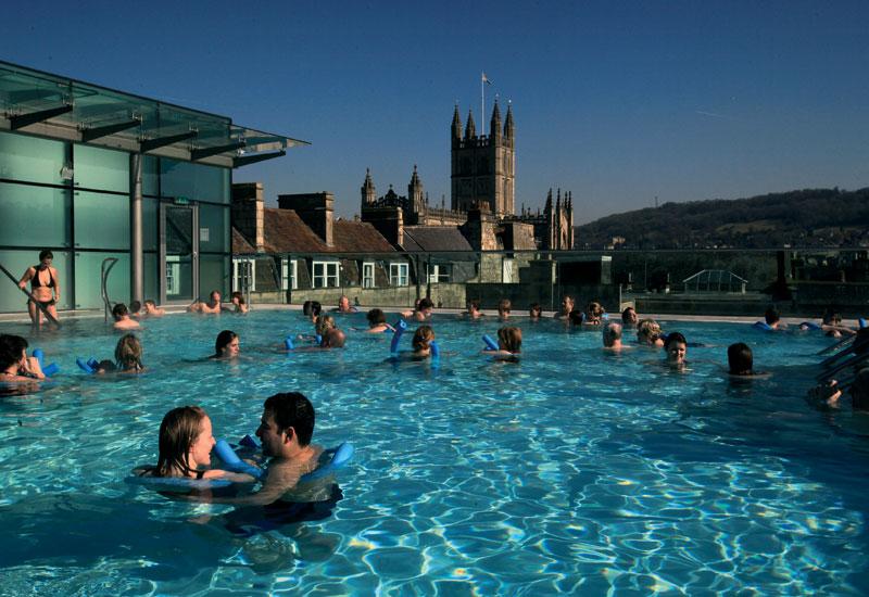 The Thermae Bath Spa.