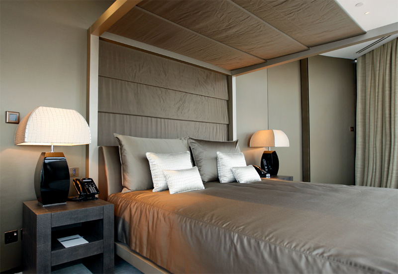 Armani Hotel Dubai provides some of the most high quality beds and bedding in the UAE, created by Giorgio Armani himself.