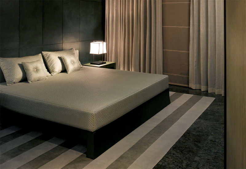 Subtle textures take centre stage at  Armani Residences.